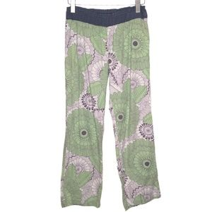 Anthropologie Lilka Floral Lounge Pajama Pants